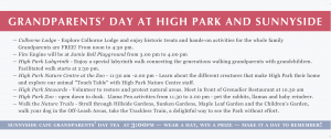 High Park GP Day